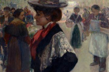 Exposition Jules Adler, peintre sous la Troisième République Evian GPSMB