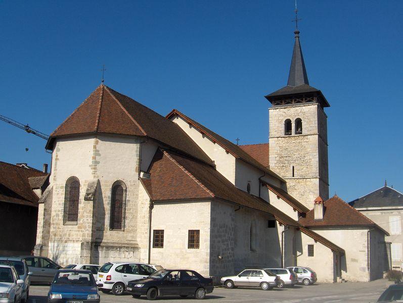 Yenne l'église visite Guide du Patrimoine Savoie Mont Blanc