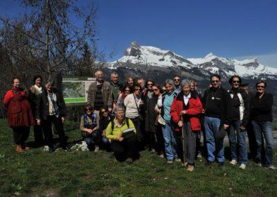 Guides de Patrimoine des Pays de Savoie en AG à Combloux 2013