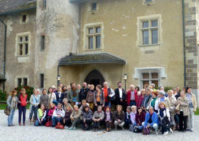 Guides du Patrimoine Savoie Mont Blanc en Formation Continue au château de Ripaille 2017