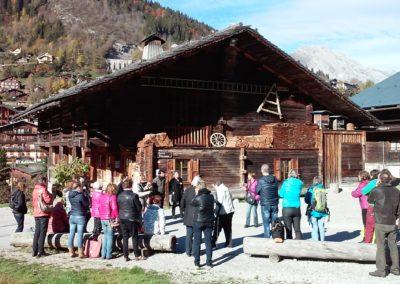 Guides du Patrimoine des Pays de Savoie en Formation Continue au Grand Bornand 2015@AB