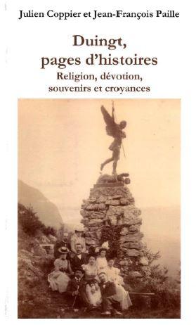 Livre Duingt, pages d'histoire J. Coppier et J-F Paille