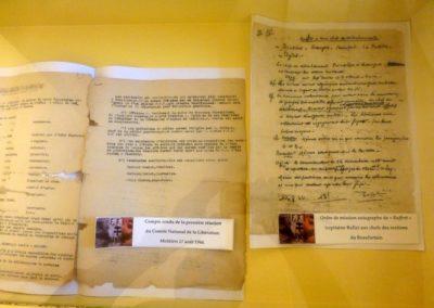 Musée des Traditions Populaires de Moutiers visites Guides du Patrimoine Savoie Mont Blanc thème Résistance (2)