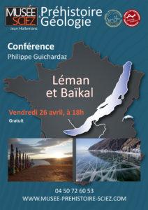 conférence Léman Baïkal musée de Sciez avec Guides PSMB