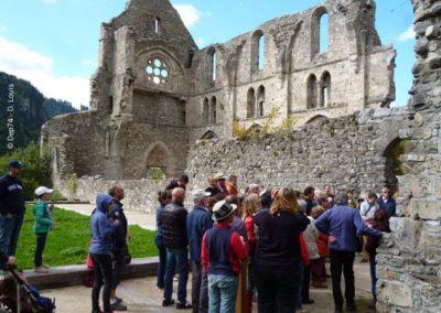 Abbaye d'Aulps visite Guides du Patrimoine Savoie Mont Blanc
