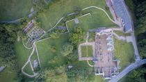 Abbaye d'Aulps vue du ciel GuidesPSMB