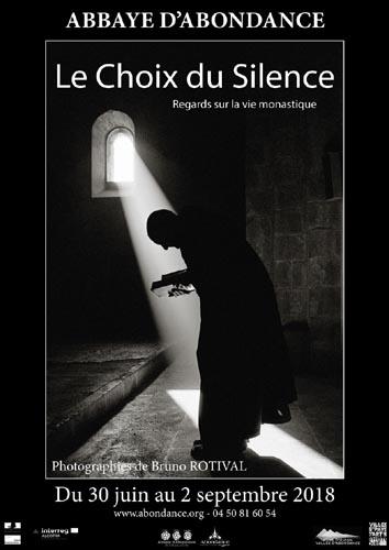 Exposition 2018 le choix du silence avec les Guides du Patrimoine Savoie Mont Blanc à Abondance