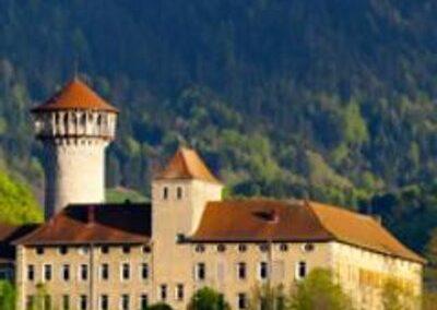 Le donjon des seigneurs de Faverges, à visiter avec les Guides du Patrimoine Savoie Mont Blanc