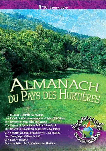 Almanach du Pays des Hurtières n°10 2018 avec les Guides PSMB