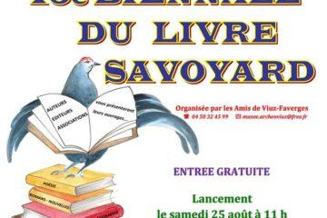 Biennale du Livre savoyard 2018 à Faverges Savoie Mont Blanc
