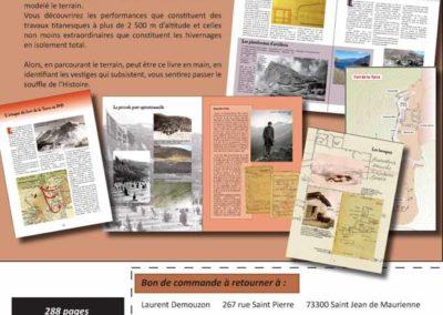 Livre Le Fort de La Turra GArdien du col du Mont Cenis par Laurent Demouzon Guide du Patrimoine Savoie Mont Blanc (5)