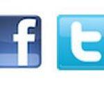 boutons facebook et twiter