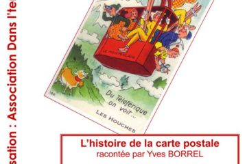 Conférence Yves Borrel cartes postales anciennes Pays du Mont Blanc GuidesPSMB