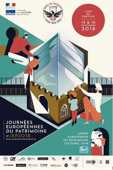 Journées Européennes du Patrimoine 2018 avec les Guides du Patrimoine Savoie Mont Blanc