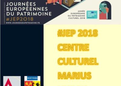 Moûtiers Tarentaise programme JEP 2018 Guides du Patrimoine Savoie Mont Blanc (1)