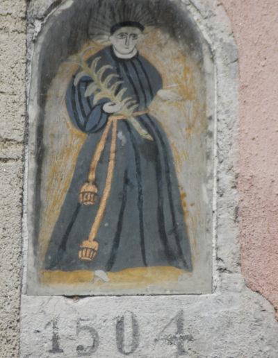 Saint Antoine de Padoue patron du Faubourg Montmélian conférence Monique Dacquin Guide du Patrimoine Savoie Mont Blanc