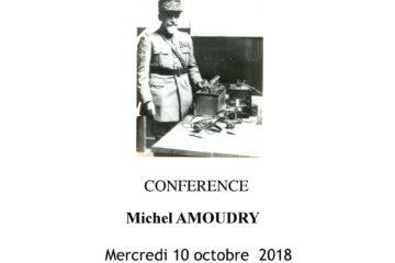 Conférence Michel Amoudry Général Ferrié Maurienne Guides du Patrimoine Savoie Mont Blanc