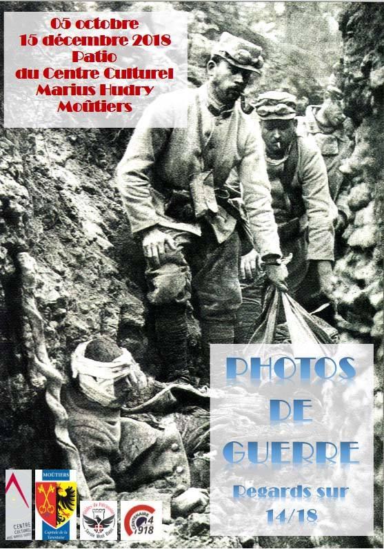 Moutiers exposition photos de guerre regards sur 1914-1918 avec les Guides du Patrimoine Savoie Mont Blanc