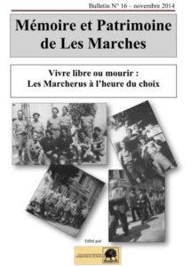 Bulletin Mémoire et Patrimoine de Les Marches avec les Guides du Patrimoine Savoie Mont Blanc