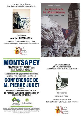 Conférences Guides du Patrimoine Savoie Mont Blanc en ré-écoute en ligne