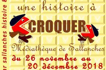 Exposition Sallanches Chocolat Pissard nov 2018 Guides du Patrimoine Savoie Mont Blanc