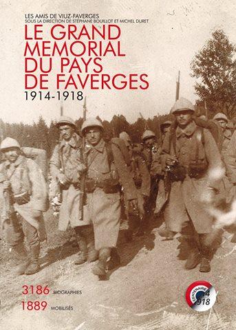 Livre Le Grand Mémorial du Pays de Faverges avec les Guides du Patrimoine Savoie Mont Blanc