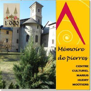 Livre Mémoire de pierres du CCMH de Moûtiers avec les Guides PSMB