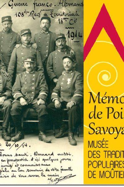Livre Mémoire de poilus MTP CCMH et GuidesPSMB de Moûtiers Tarentaise