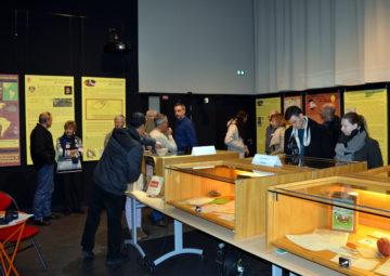 exposition chocolaterie Pissard Sallanches 2018 avec Guides du Patrimoine Savoie Mont Blanc