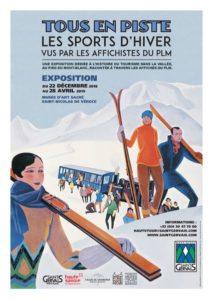Exposition affiches St Nicolas de Véroce Guides Patrimoine Savoie Mont Blanc