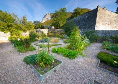 abbaye d'aulps avec GuidesPSMB jardin des simples ©Laurent Geslin