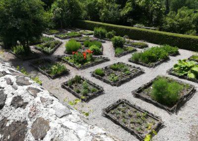 Abbaye d'Aulps avec Guides PSMB jardin des simples