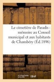 Chambery livre le cimetière de paradis