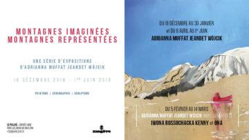 Exposition Megeve montagnes imaginées montagnes représentées avec les Guides PSMB