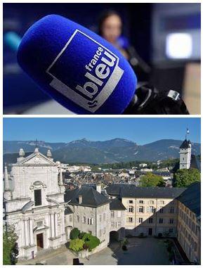 France Bleu Laurent Pascal et les Guides du Patrimoine Savoie Mont Blanc à Chambéry