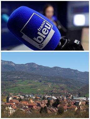 France Bleu Laurent Pascal et les Guides du Patrimoine Savoie Mont Blanc à Yenne