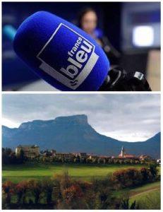 France Bleu Laurent Pascal et les Guides du Patrimoine Savoie Mont Blanc visite Les Marches