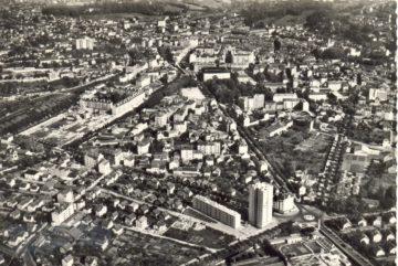 Chambéry capitale des ducs de Savoie vue aérienne