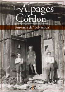 livre Les Alpages de Cordon avec les Guides du Patrimoine Savoie Mont Blanc