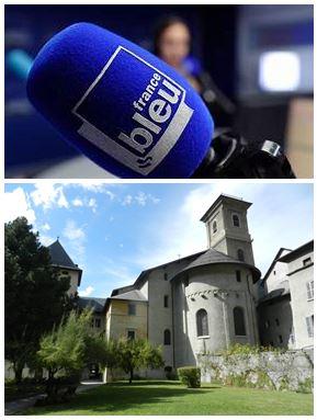 France Bleu Laurent Pascal et les Guides du Patrimoine Savoie Mont Blanc à Moûtiers Tarentaise