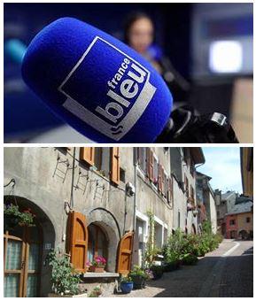 France Bleu Laurent Pascal et les Guides du Patrimoine Savoie Mont Blanc à Montmélian