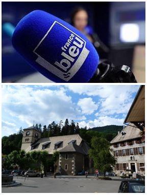 France Bleu Laurent Pascal et les Guides du Patrimoine Savoie Mont Blanc à Samoëns
