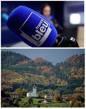 France Bleu Laurent Pascal et les Guides du Patrimoine Savoie Mont Blanc à St Alban d'Hurtières Porte de Maurienne