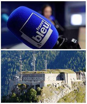 France Bleu Laurent Pascal et les Guides du Patrimoine Savoie Mont Blanc à Valloire Galibier Maurienne
