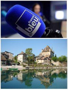 France Bleu Laurent Pascal et les Guides du Patrimoine Savoie Mont Blanc à Yvoire