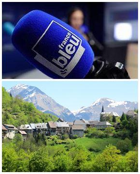 France Bleu Laurent Pascal et les Guides du Patrimoine Savoie Mont Blanc au Chatelard PNR Bauges