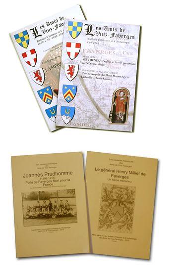 Amis de Viuz Faverges Bulletins asso et causeries patrimoine Haute Savoie