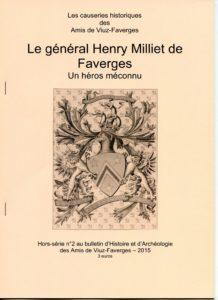 Bulletin des Amis de Viuz Faverges 2- Milliet