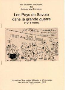 Bulletin des Amis de Viuz Faverges 4- Grande guerre 14-19