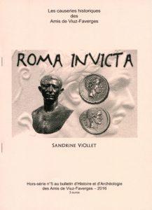 Bulletin des Amis de Viuz Faverges 5- Roma invicta